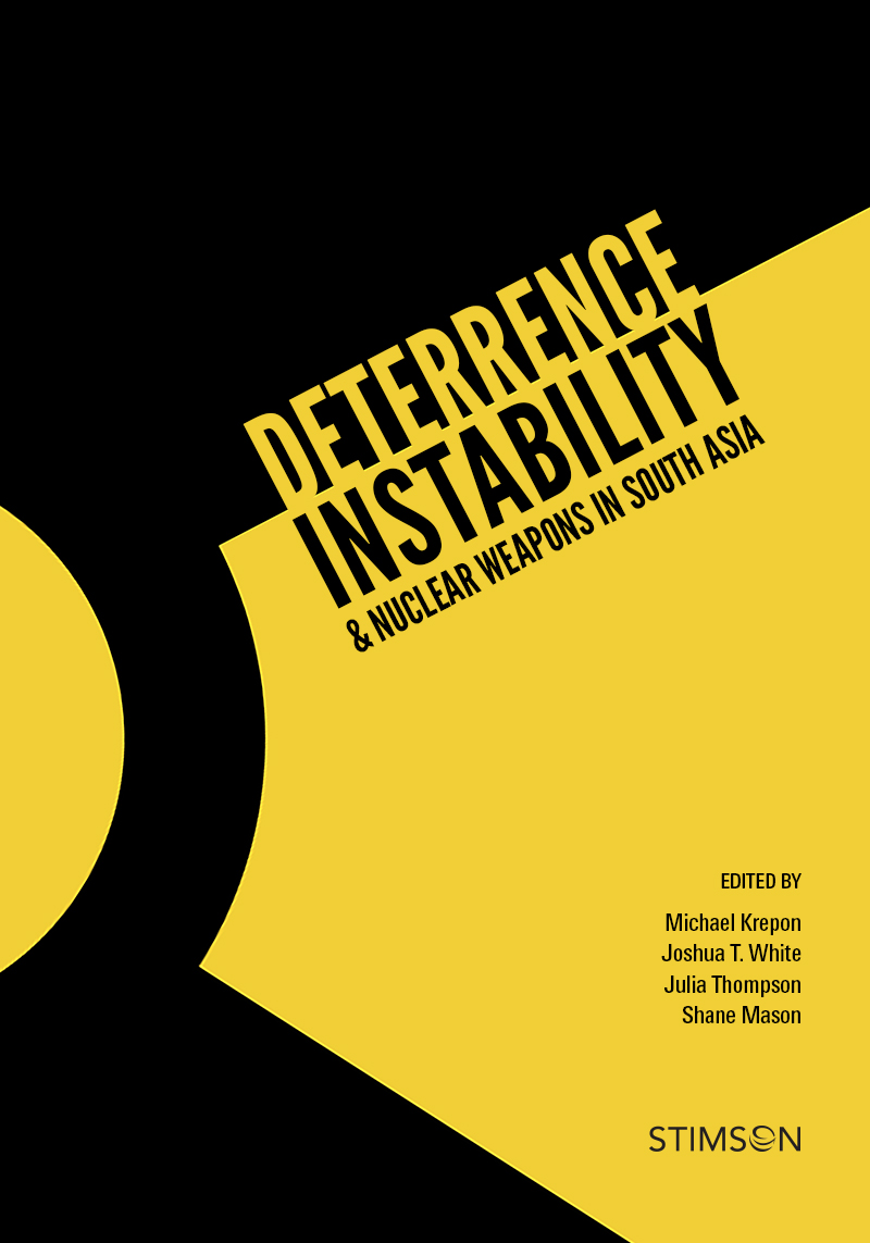 deterrence instability nuclear weapons in south asia stimson center